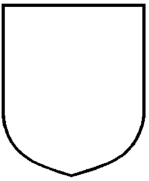 shield template designing your own heraldry a go heraldry