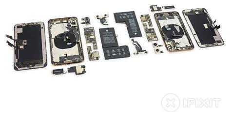 ifixit teardown reveals iphone xs  shaped battery