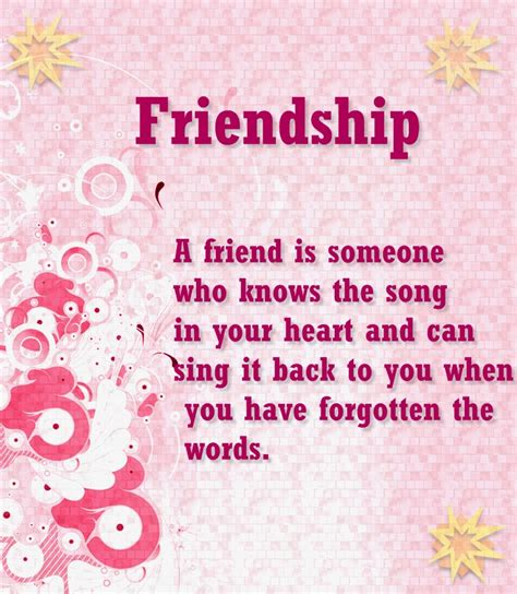 nice friendship quotes message   loving words