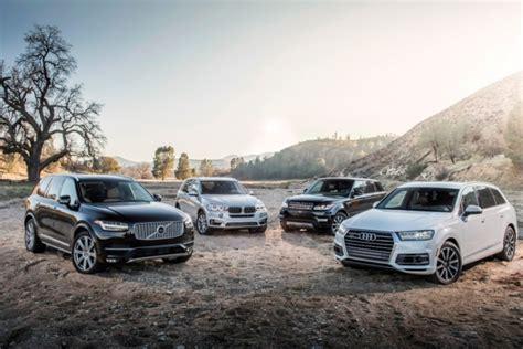 BMW X5 vs Audi Q7 vs Volvo XC90 vs Range Rover Sport