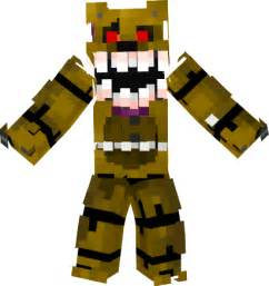 Minecraft skins of every five nights at freddy s ask