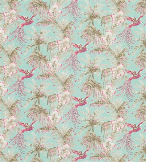 Bird Of Paradise Fabric by Matthew Williamson   Jane Clayton