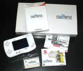 wonderswan color about the