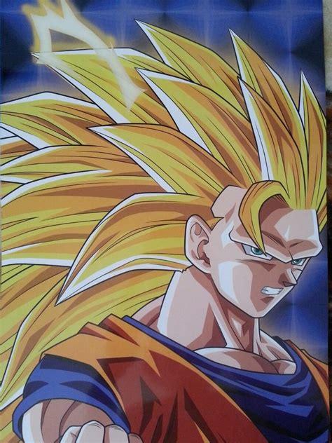 imagenes goku face 3 poster goku fase 3 199 00 en mercado libre