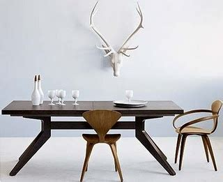 4 Dining Room Chairs Cross Dining Table Furniture Pinterest Modern Lodge