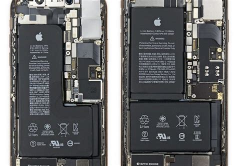 iphone xs xs max teardowns reveal what s inside the new iphones