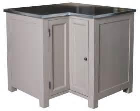 acheter meuble d angle de cuisine zinc pin massif