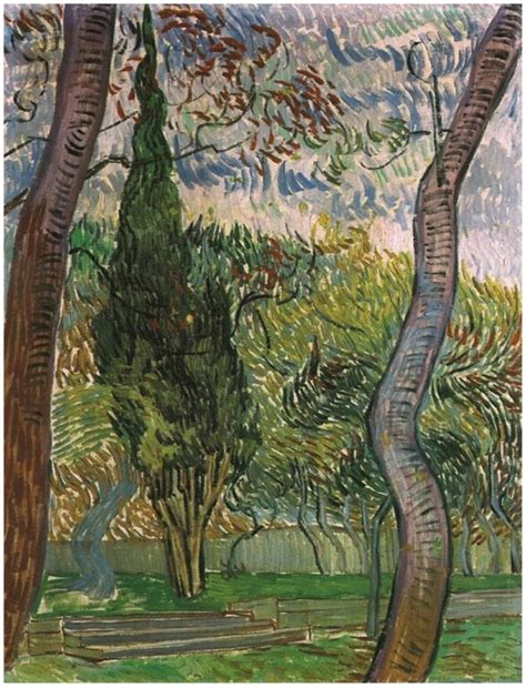 Garden Of St Paul Garden Of Paul Hospital The By Vincent Gogh 159