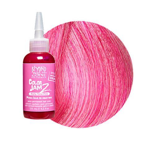 color jamz hair dye beyond the zone color jamz semi permanent hair color