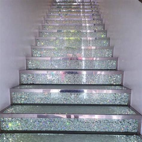 glitter wallpaper stairs glitter wallpaper stairs the 25 best glitter stairs ideas