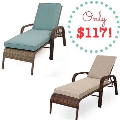kohls chaise lounge kohls sonoma wicker chaise lounge chair only 117 reg