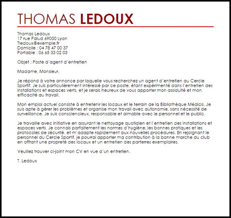 Exemple De Lettre De Motivation Nettoyage Industriel Exemple Lettre De Motivation D Entretien Livecareer