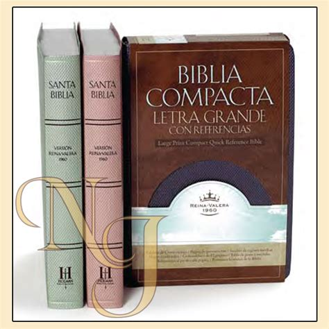 rvr 1960 biblia compacta rvr 1960 biblia compacta de letra grande con referencias