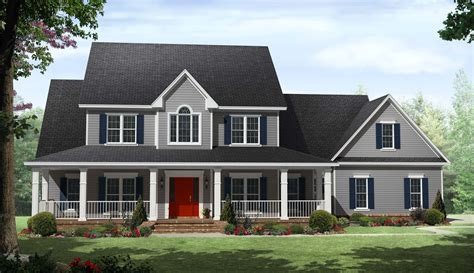 house with a porch country homes plans with porches