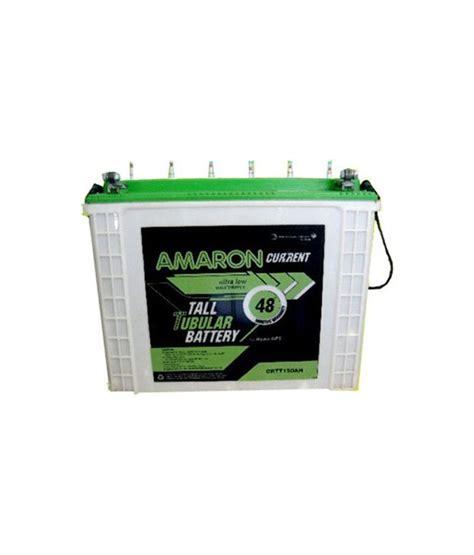 Exide Ceil Tubular Battery by Amaron Inverter Crtt 150ah Tubular Battery Available