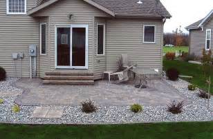 How To Level Ground For Patio by Ground Level Deck Plans Patio Stairs Design Future