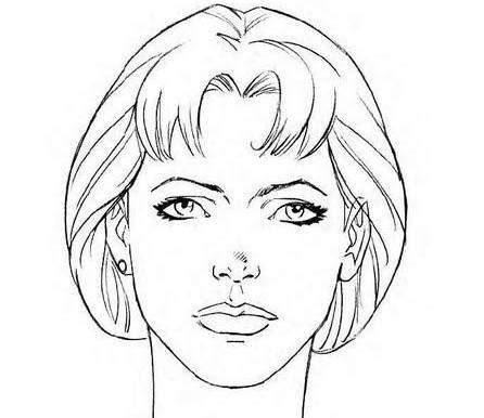 imagenes para dibujar rostros como dibujar el rostro de una persona paso 4 dibujos