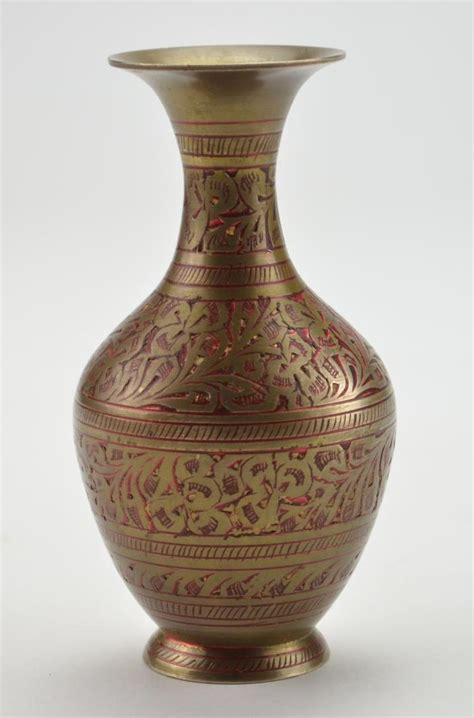 decorative vases decorative 5 quot brass vase from india