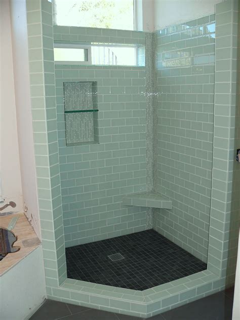 bathroom glass shower ideas ideas to incorporate glass tile in your bathroom design