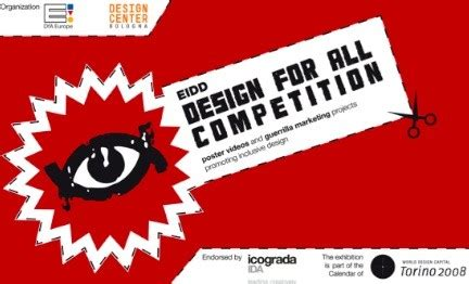 design week competition eidd design for all competition a icograda design week per