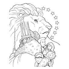 free coloring pages for the lion the witch and the wardrobe 10 free printable narnia coloring pages for your toddler