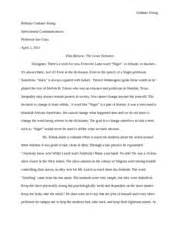 Interpersonal Communication Essay by Interpersonal Communications The Great Debaters Paper Graham Graham