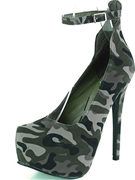 camo high heels camo high heel shoes and boots for webnuggetz
