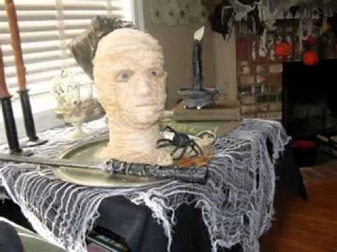 how to make scary halloween decorations at home simple diy scary halloween decorations ideas youtube