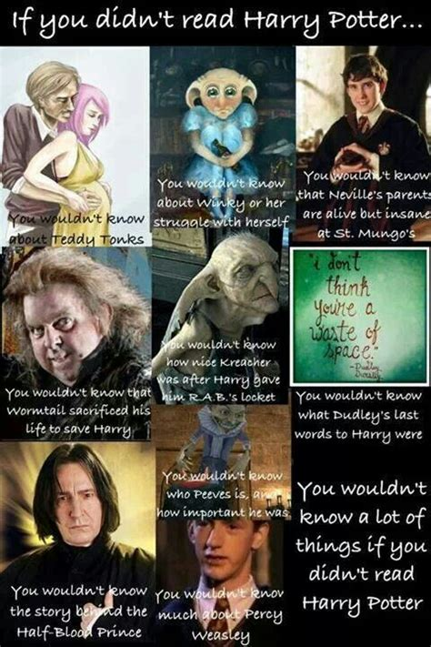 libro pics or it didnt if you didn t read harry potter you wouldn t know harry potter fan girling