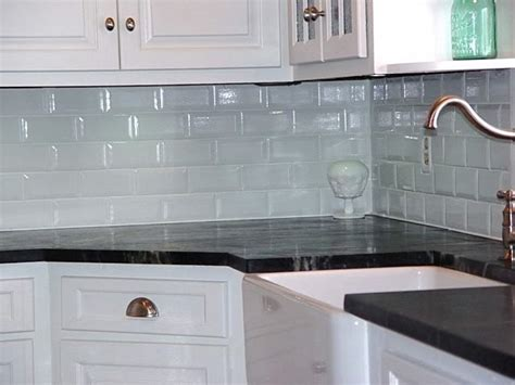 Glass Tile Backsplash Kitchen by Kitchen White Subway Tile Backsplash Ideas Subway Tile