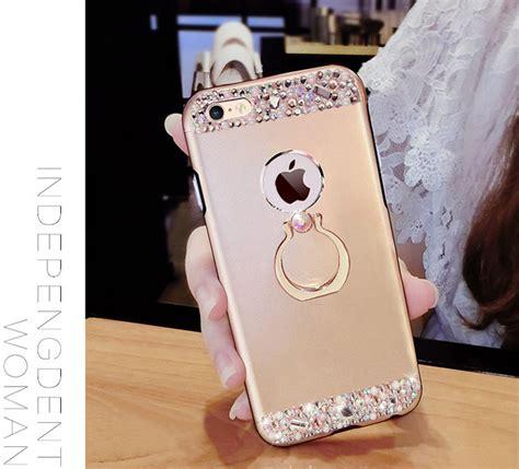 rose gold iphone      diamond metal protective