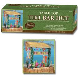 Tabletop Tiki Hut 8 Best Images Of Tiki Bar Party Printables Hawaiian Luau