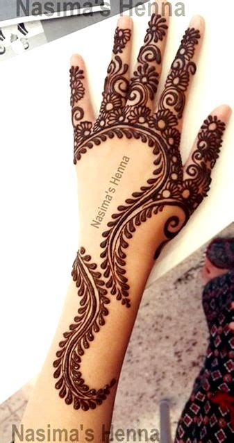 interview with a henna artist creative arabic mehndi designs by nasima