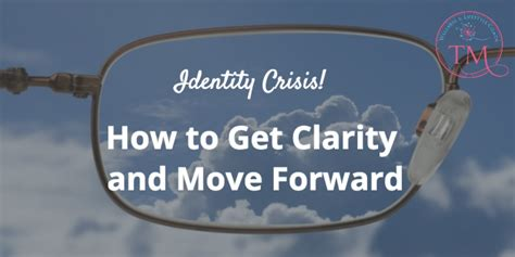 how to get clarity for yourself and your business free health check peer groups for identity crisis how to get clarity and move forward tami mcvay wellness lifestyle coach