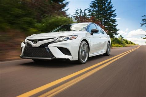 toyota camry 2018 white 2018 toyota camry pricing announced ny daily news