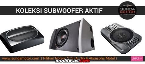 Murah Speaker Multymedia Sw280 Basss woofer slim aktif dibawah jok tanpa box bass dinamis