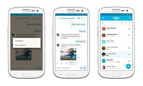 skype android app skype updates android app so you can save messages