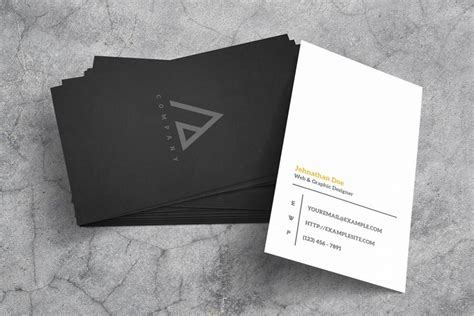 business card template xcf 21 free hi res business card mockups hongkiat