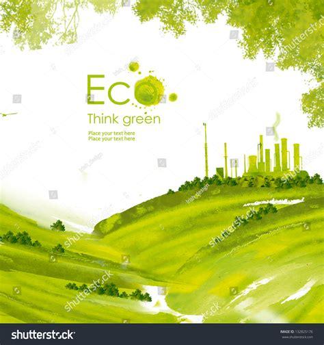 environmentally friendly trees illustration environmentally friendly planetgreen factory
