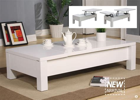 White Lift Top Coffee Table Morie White Contemporary Lift Top Coffee Table Ebay