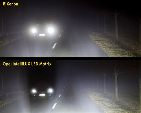 Lu Hid Satu Set all new opel vauxhall astra gets optional led matrix headlights