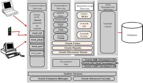 java pattern business logic oracle internet application server services