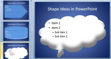 templates powerpoint original original ideas for powerpoint internal slides using shapes