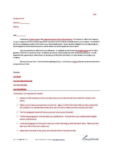 letter of interest template sle letter of interest exle
