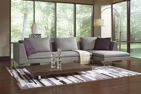 Lazar Gray Modern Sofa Sarasota Modern Contemporary Modern Furniture Sarasota