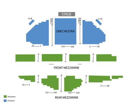 ambassador theater seating chart viptix ambassador theatre tickets