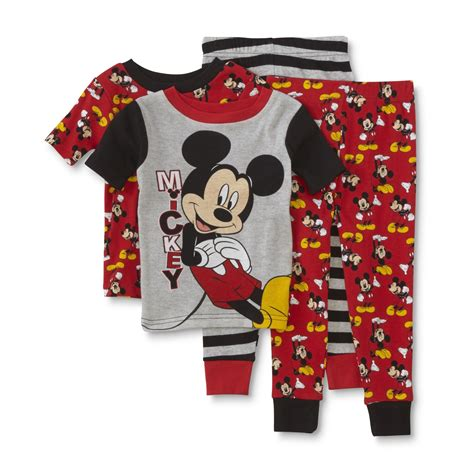 Pajamas Mickey Pp by Disney Baby Mickey Mouse Toddler Boy S 2 Pairs