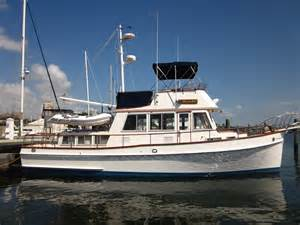 Comfortable Settee Top 10 Reasons Grand Banks Trawlers Are The Best Cruising