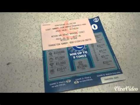 Card Winner by National Lottery Scratch Card Winner