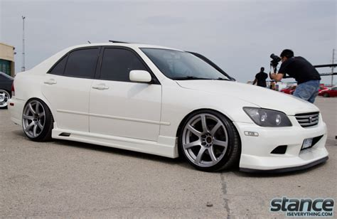 stanced lexus is300 white 2001 lexus is300 white imgkid com the image kid